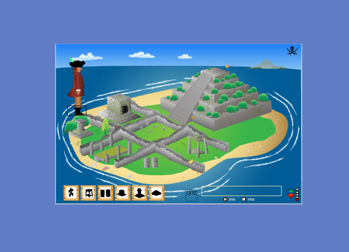 E-Learning Flash Game